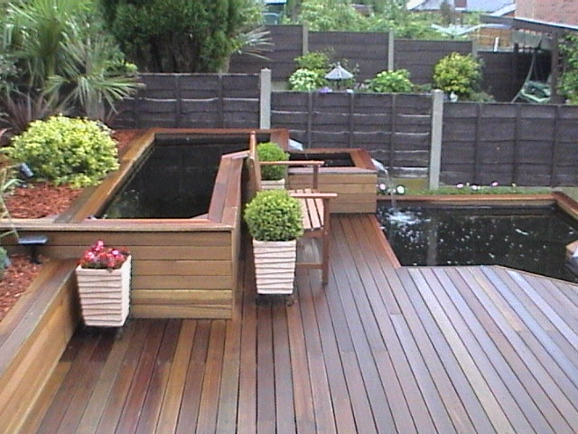 Low Maintenance Decking With Oak Style Non Slip Low Zero