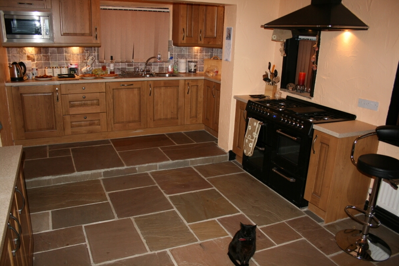 Interior Landscaping Natural Stone Floors For Kitchens