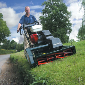 A cylinder gives a better finish than a rotary mulch mower!