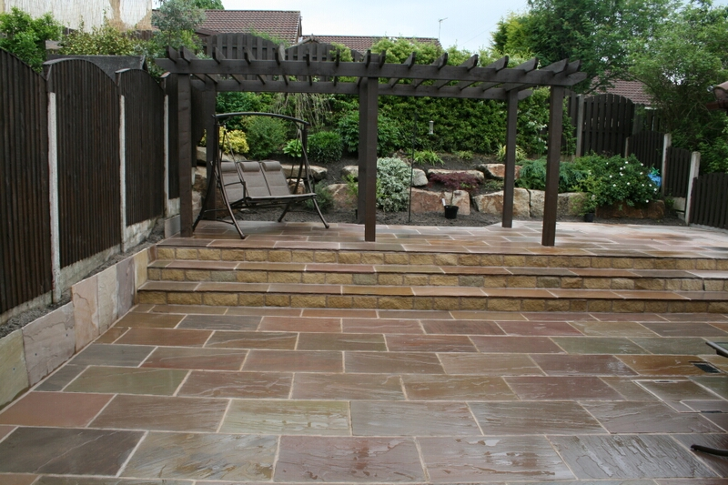 Qualified garden landscaping and design services from for Hard landscaping ideas