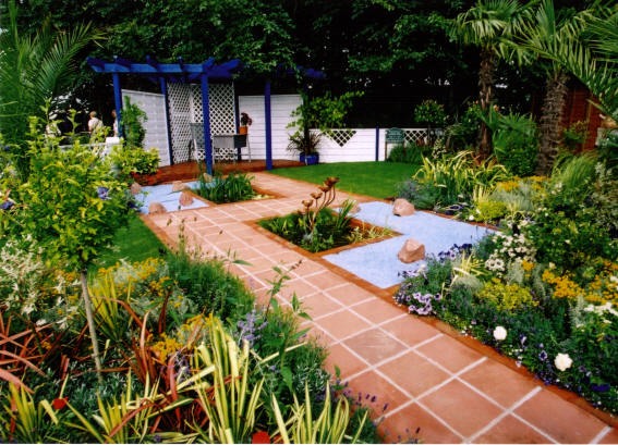 Qualified landscapers gardeners in bolton bury for Country garden designs landscaping